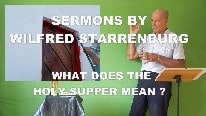 Meaning Holy Supper?